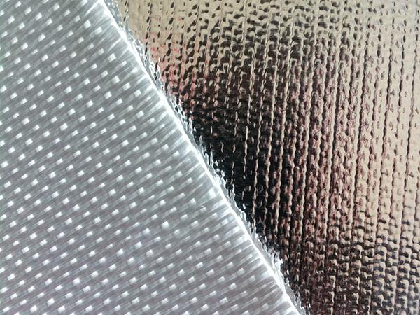 Telas de Fibra de Vidrio con Foil de Aluminio